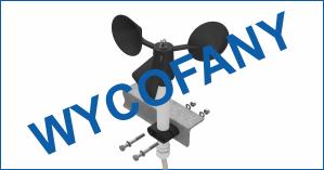 Wycofany z produkcji. A-031 – czujnik prędkości wiatru (anemometr), wyjście częstotliwościowe