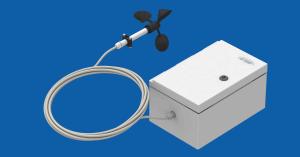 Wycofany z produkcji. A-095 – anemometr rejestrujący, obudowa IP66, w komplecie czujnik z kablem 10m, oprogramowanie.