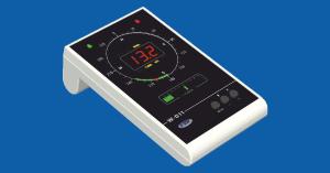 W-011 – panel wyświetlający i sygnalizujący do wiatromierza WZ-120