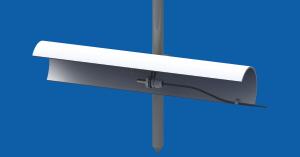 OAP-113 – osłona antyradiacyjna dla czujnika temperatury minimalnej przygruntowej, regulowana wysokość