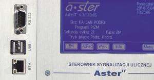 AsterIT w Obszarowym Systemie Sterowania Ruchem w Krakowie